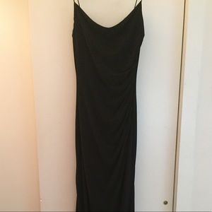 Black cocktail/formal maxi dress